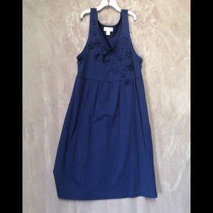 Loft summer dress sleeveless sz M